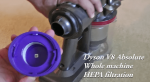 dyson v8 absolute hepa filter