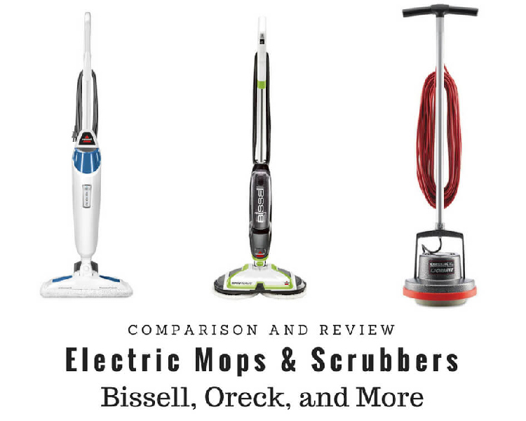 electric mops and scrubbers featured image
