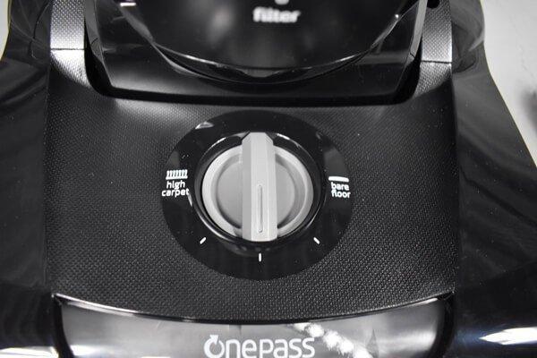 Bissell Cleanview 9595 floor settings knob