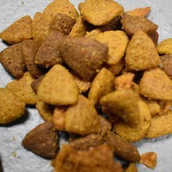 Dog food used in vacuum tests