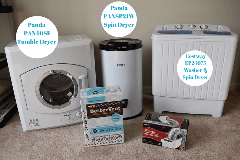 portable and compact washer and dryers