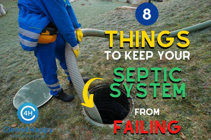 8 Things to Keep your Septic System from Failing