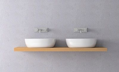 two sinks side by side