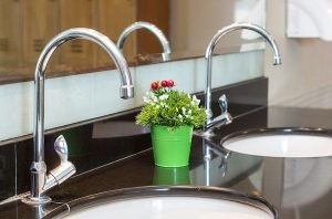 luxury chrome faucets bathroom
