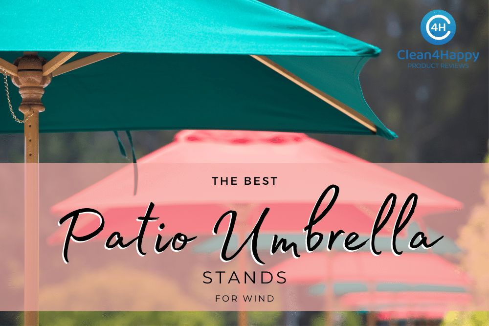 The Best Patio Umbrella Stands for Wind