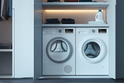 energy efficient washer and dryer combination